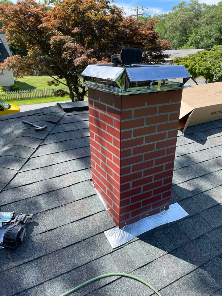 Pasadena, MD - Replacement of shingles and sheathing