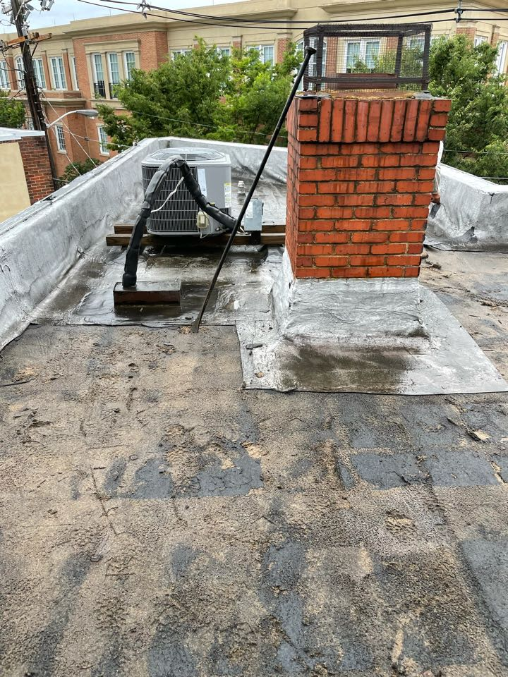 Annapolis, MD - Replacing law office roof in Historic Annapolis