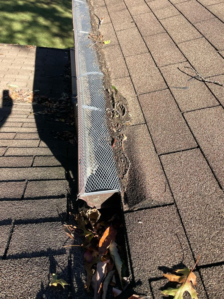 Lake Shore, MD - Arranging for repairs to leaking roof, and entering client into annual maintenance program.