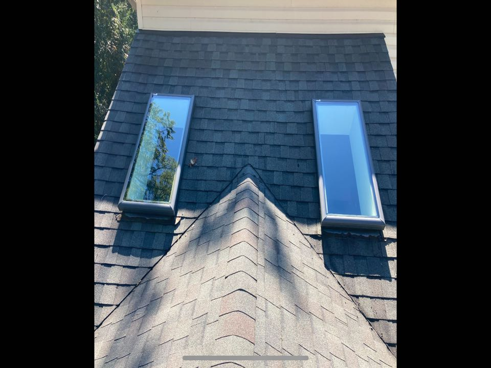 Pasadena, MD - Replacement of 2 skylights today