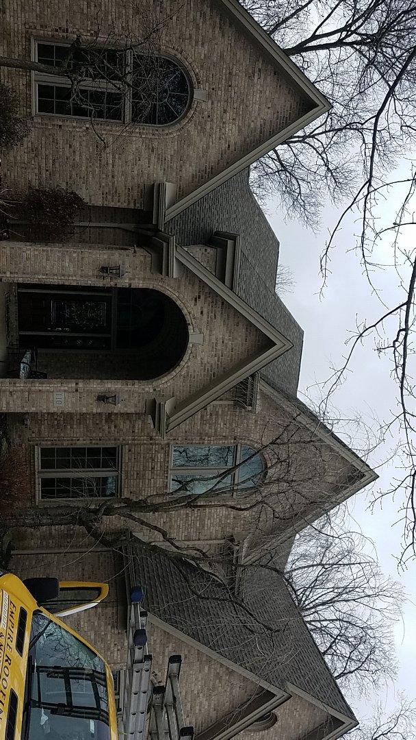 Cranberry Township, PA - Replacing missing capping shingles.