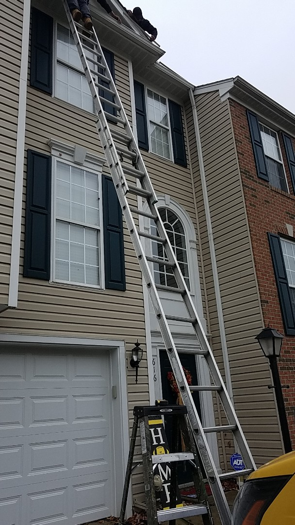 Mars, PA - Gutter cleaning and resealing.