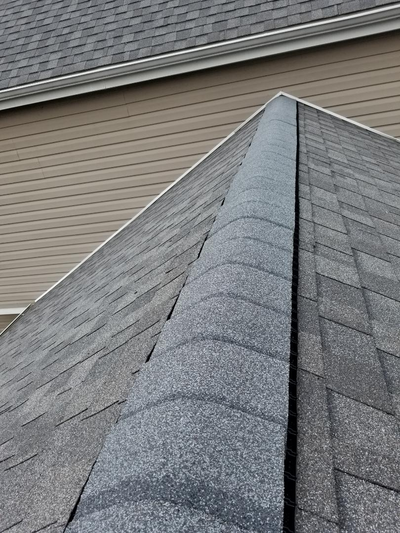 Pittsburgh, PA - Removing metal ridge vent and replacing it with cobra ridge runner and gaf seal a ridge capping.....55 feet in total