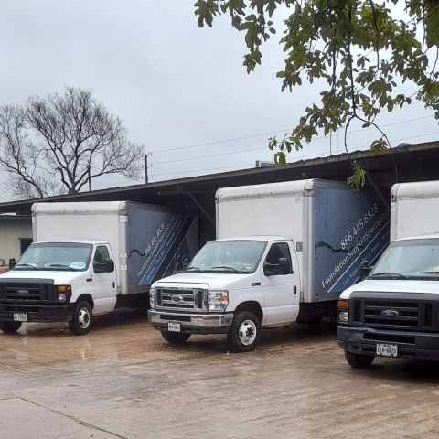 New Braunfels, TX - Some of the crews couldn't go out today due to the rain today. The rain is delaying some of our foundation repair projects, but customers can still call and schedule an appointment or send us a message here: https://www.foundationsupportspecialists.com/contact-us/