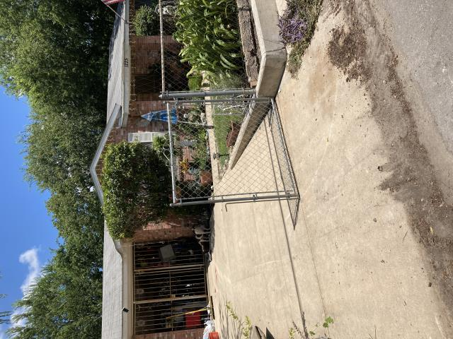 San Antonio, TX - Starting a new foundation repair project on this hot summer Friday. Our customer called with concerns about cracks he was noticing in the walls of his house. We'll be installing 13 steel piers along the back and right side of his house to correct the 2-4 inches of settlement.