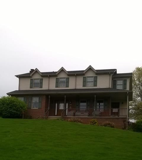 Washington, PA - New CertainTeed Landmark Moire Black roof replacement