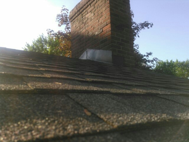 Wexford, PA - New chimney flashing for a repair