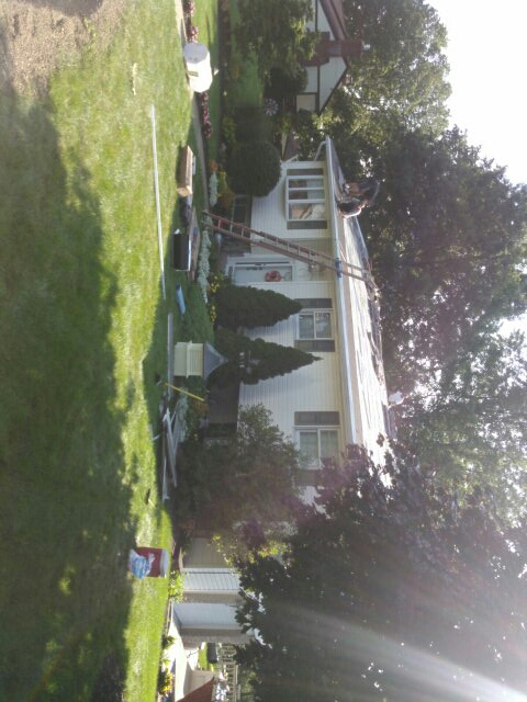 Pittsburgh, PA - Installing new roof and leaf protection