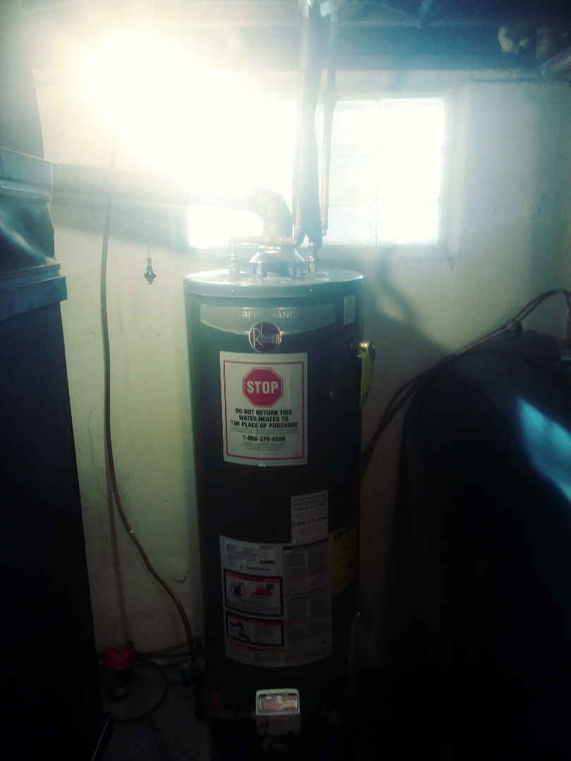 Riverhead, NY - Replaced a propane Water heater for our customer.