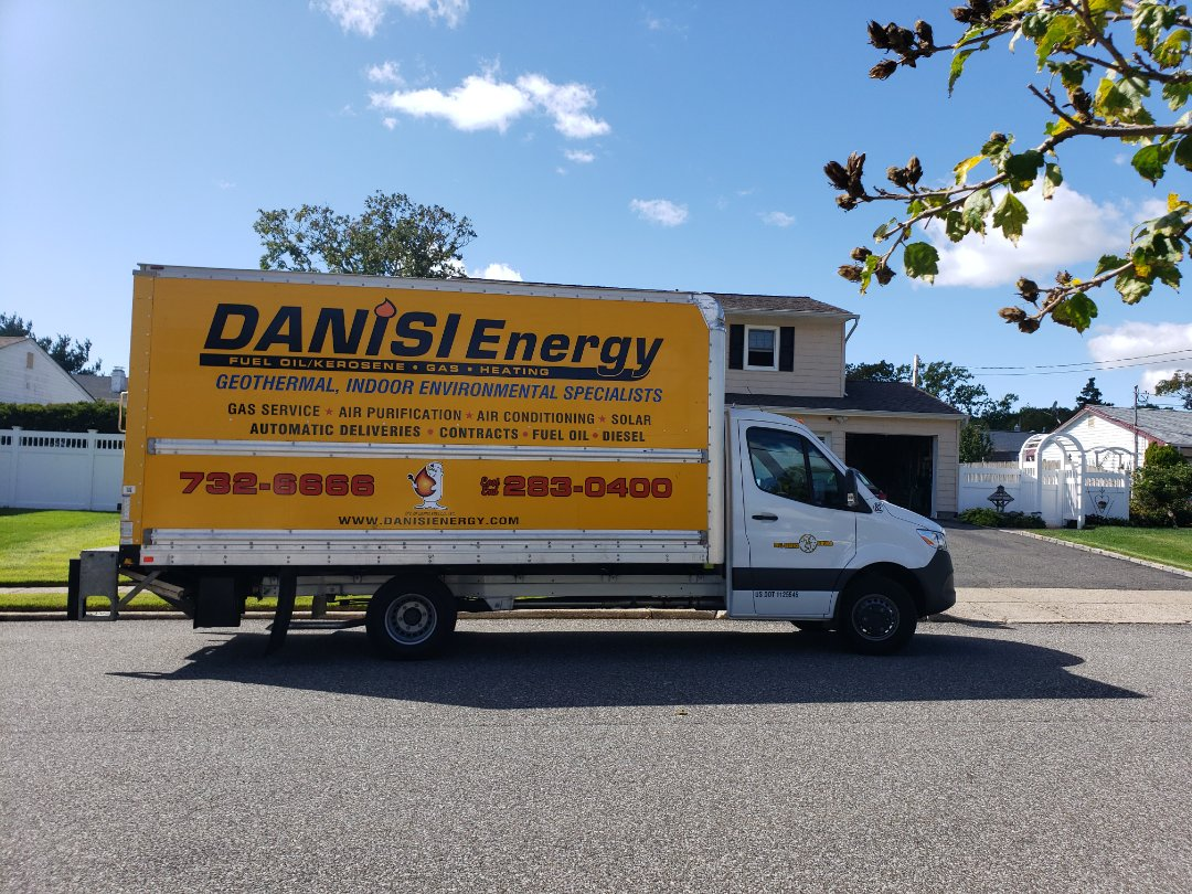 Centereach, NY - Another satisfied Danisi Energy customer upgrading their boiler system.