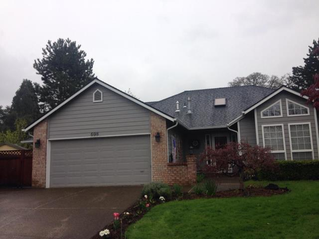 Hillsboro, OR - Just completed installing this GAF Timerline HD (Charcoal) in the Jackson School neighborhood.