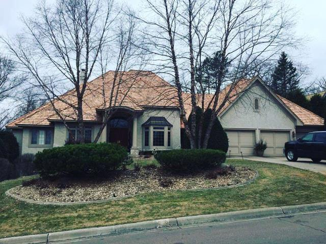 Minnetonka, MN - New shake roof replacement.