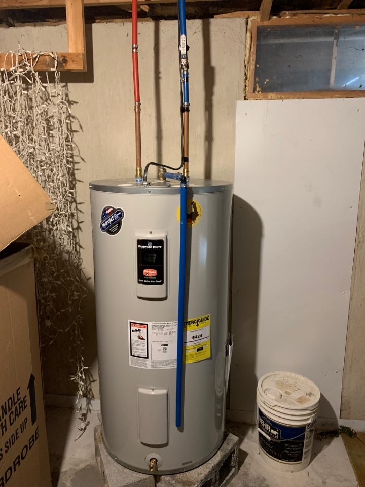 Allentown, PA - Installed new 50 gallon electric water heater.