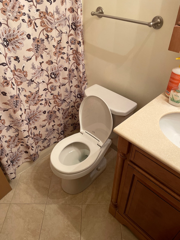 Emmaus, PA - Installed a brilliant Gerber Viper toilet for our valued customer!
