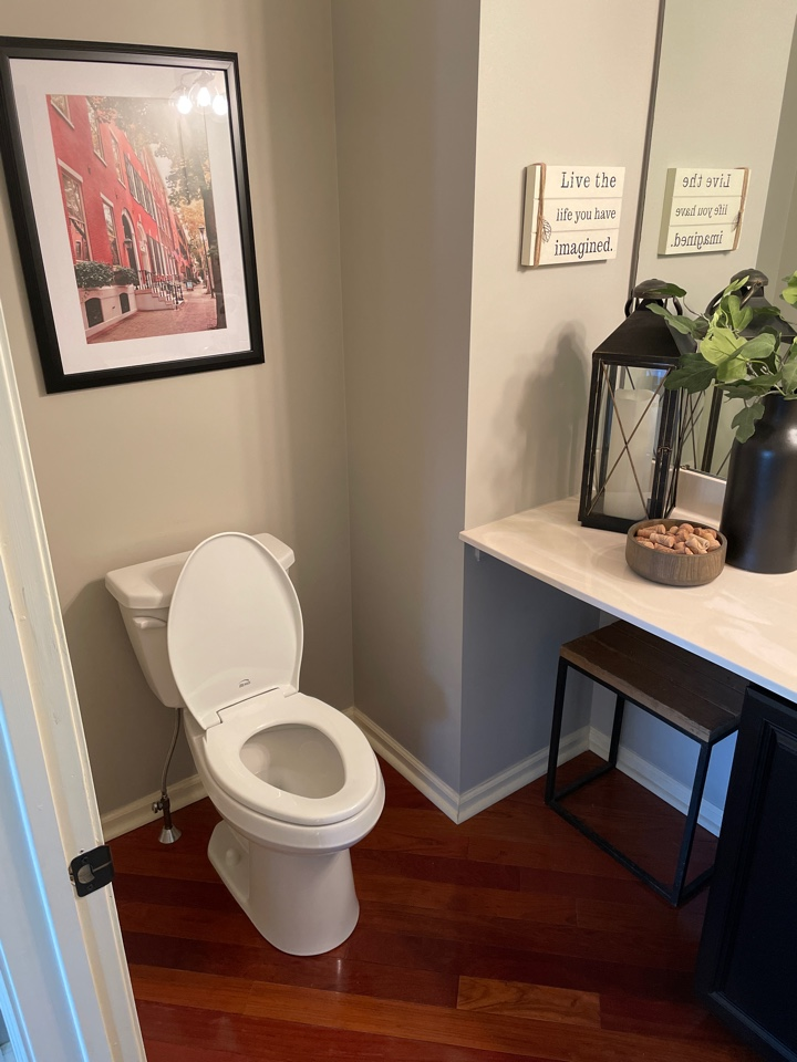 Macungie, PA - Installed a tasteful Gerber Viper elongated, comfort height toilet for one of our valued customers!