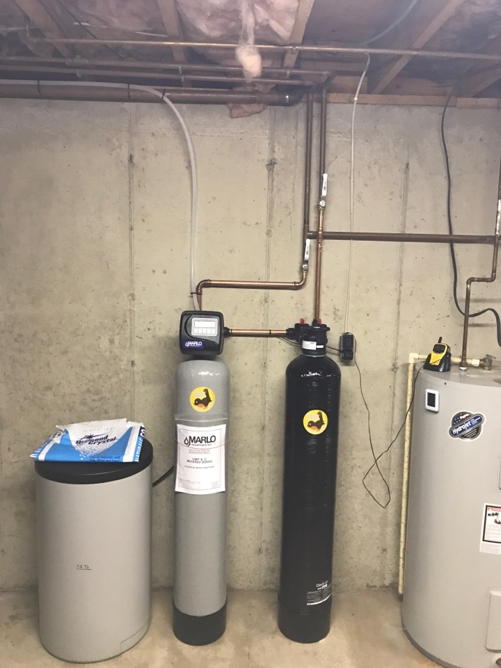 Allentown, PA - Installed new Marlo water softener and Dechlorinator.