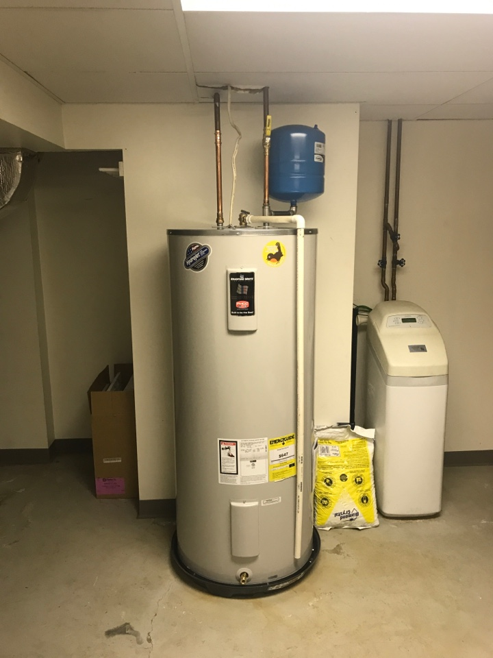 Allentown, PA - Installed new 80 gallon electric water heater