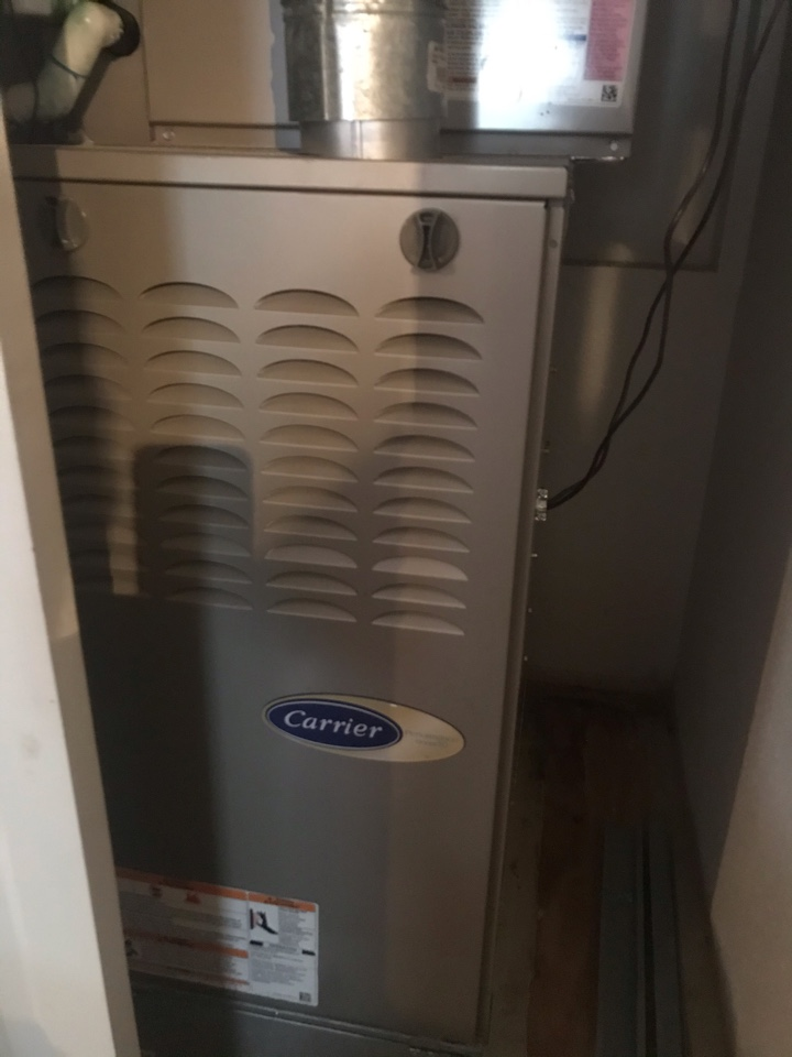 Servicing a carrier system for a family in Irving