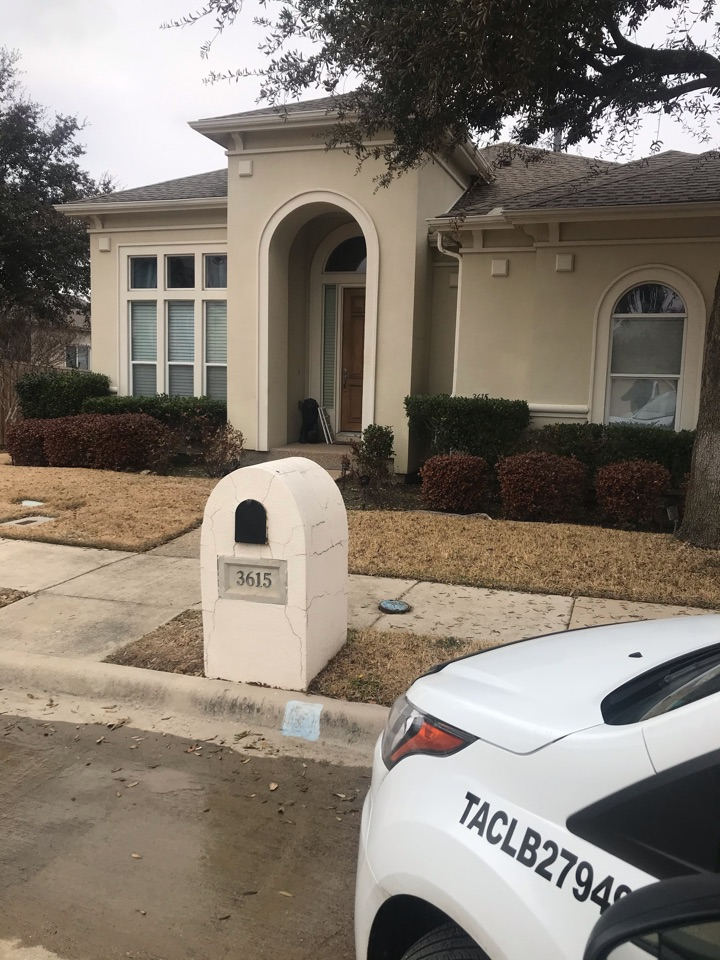 Servicing a payne system for a family in Irving