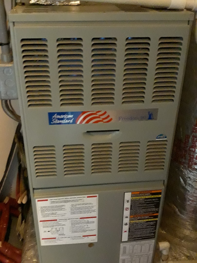 Clinton, TN - Heat maintenance, American Standard