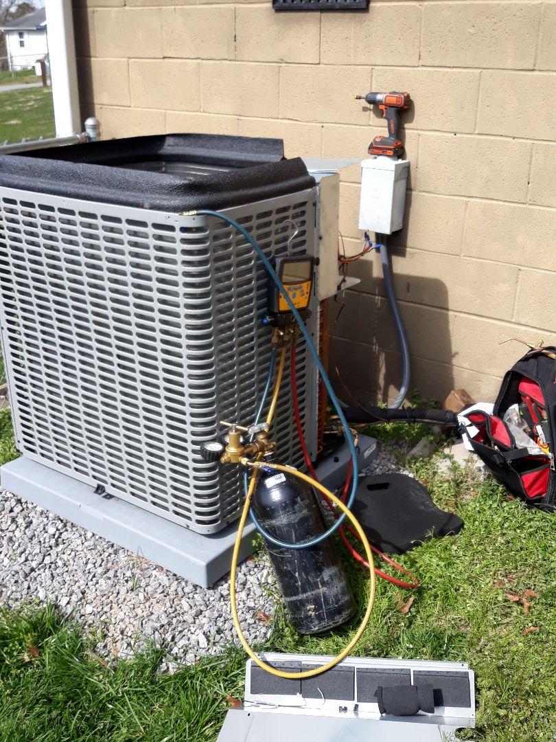 No heat, Repair, Coleman HP