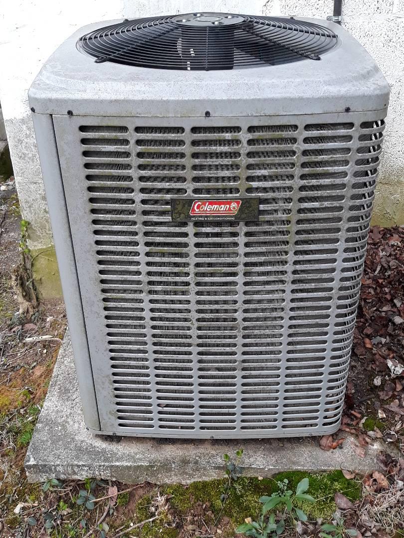 Knoxville, TN - Heat maintenance, Coleman HP