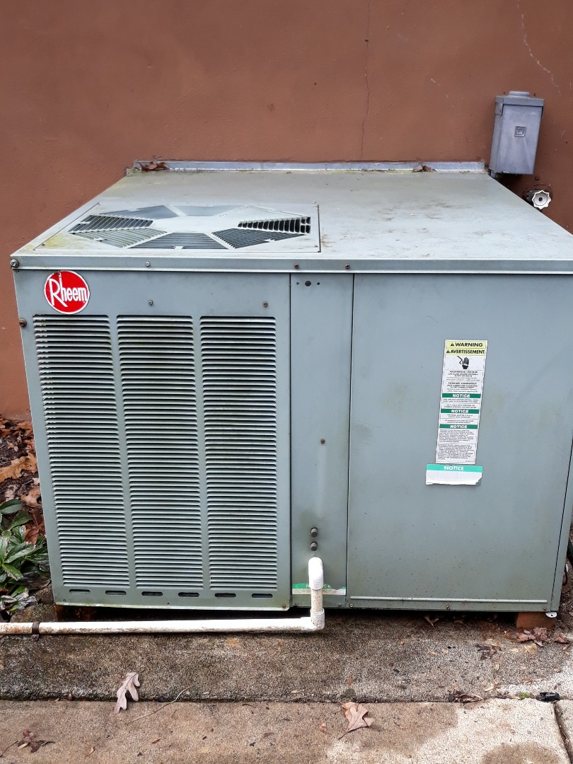 Oak Ridge, TN - Heat maintenance, Rheem pkg hp