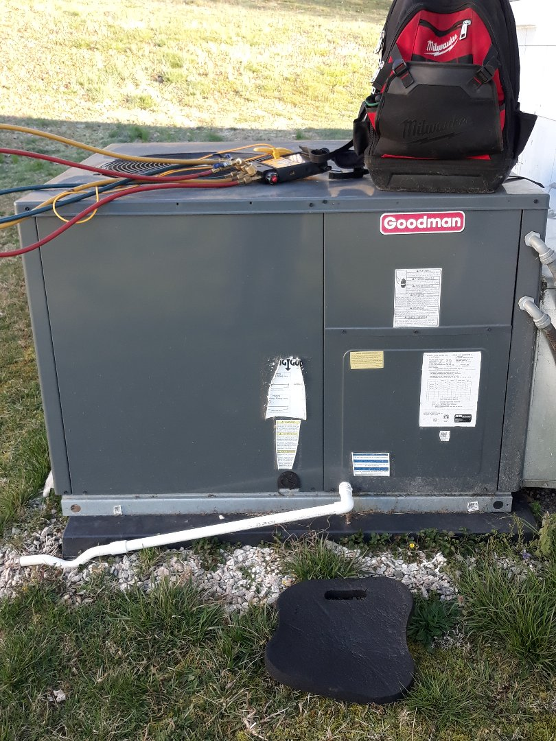 Oak Ridge, TN - Heat maintenance, Goodman pkg HP