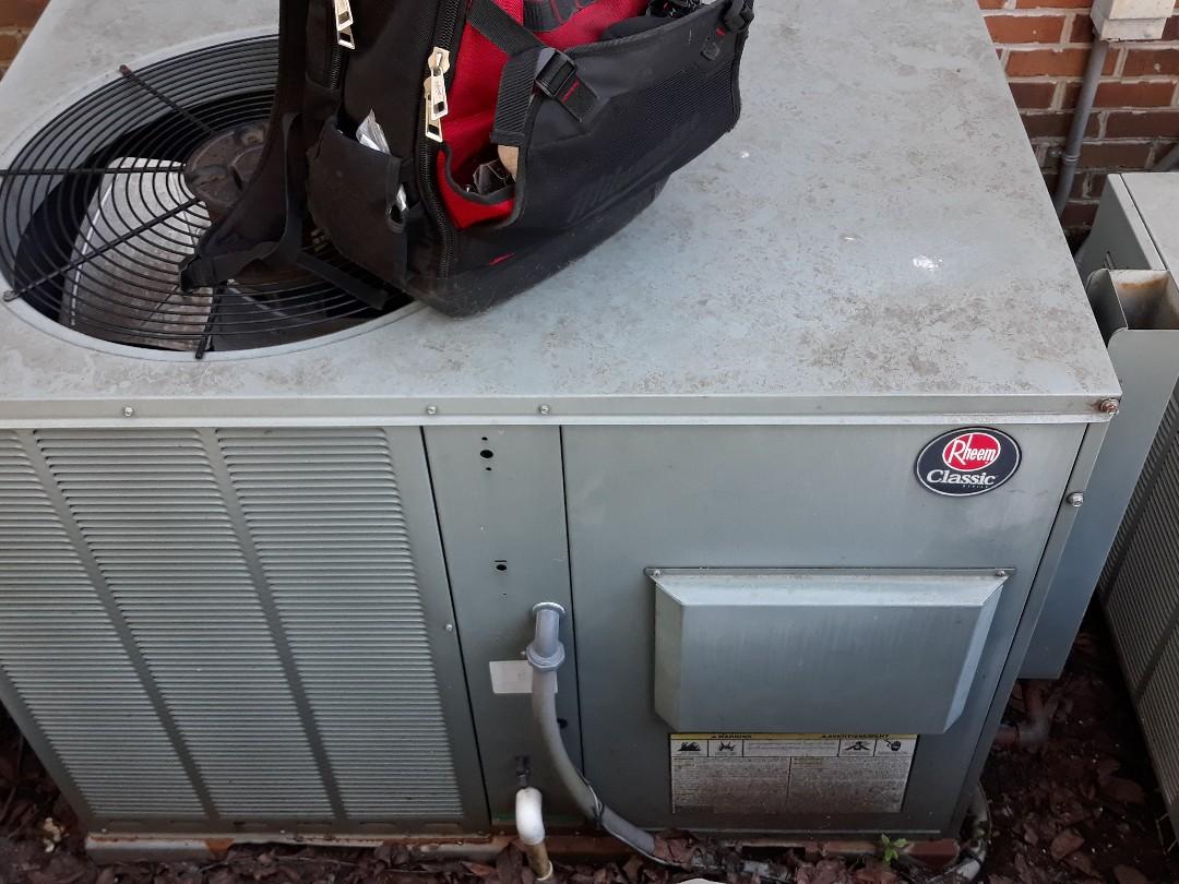 Knoxville, TN - Service call, no heat, Rheem pkg gas