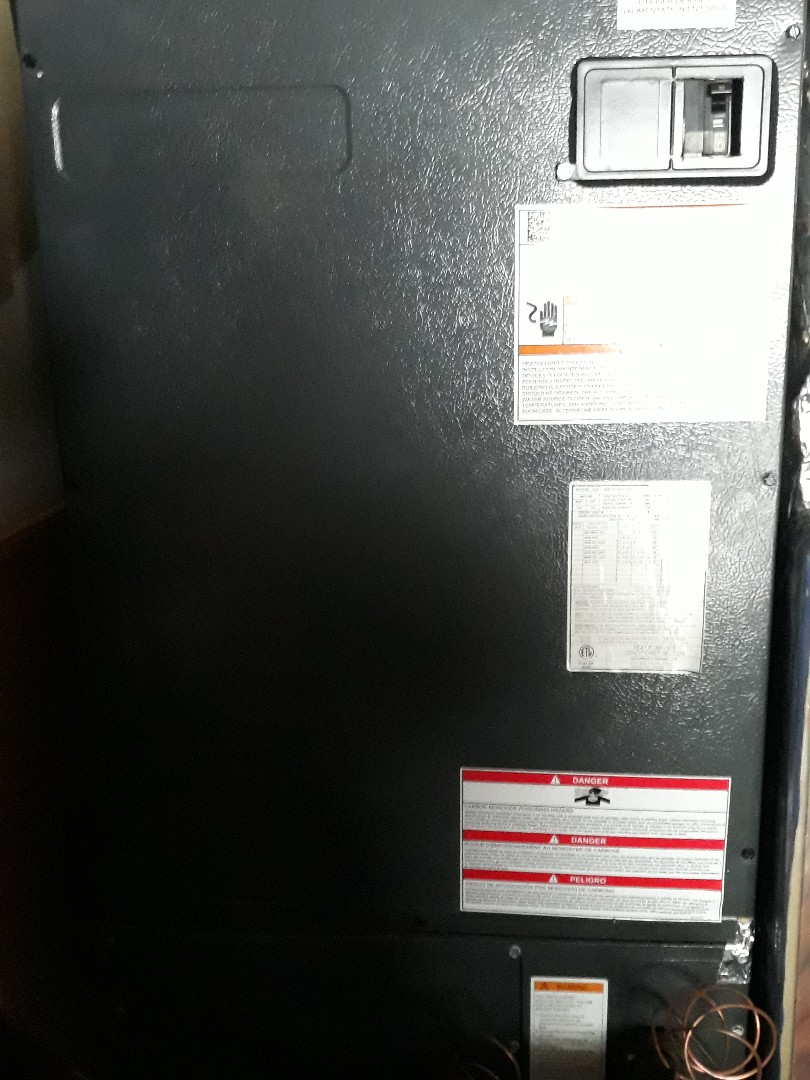 Knoxville, TN - Heat maintenance, Amana HP
