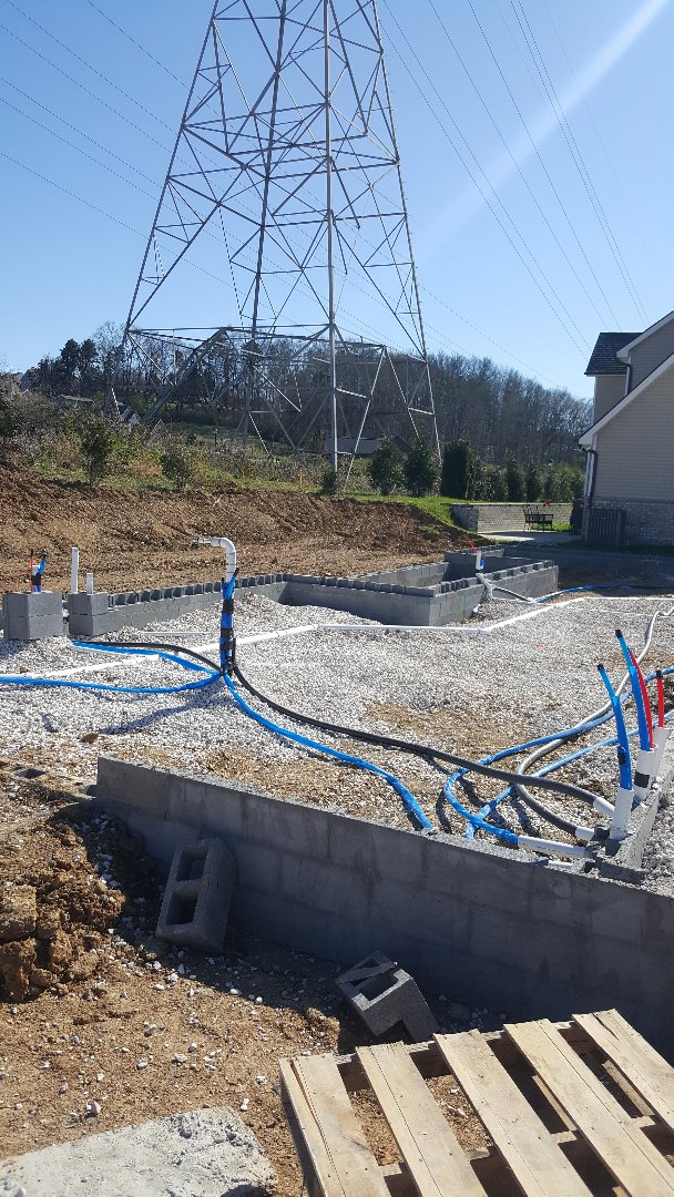 Knoxville, TN - Plumbing  new construction