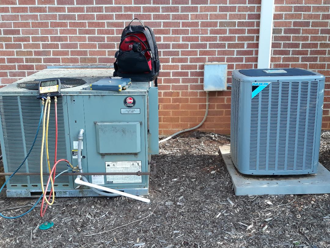 Knoxville, TN - 2 system cooling pm Rheem pkg gas and Daikin Air