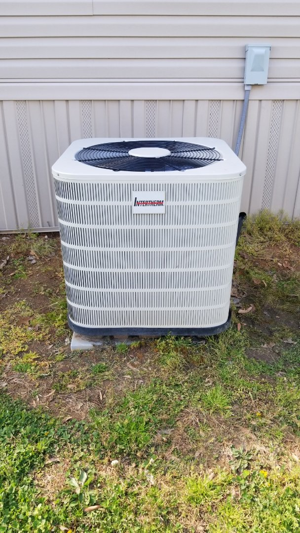 Condenser coil change out on mobile home split system