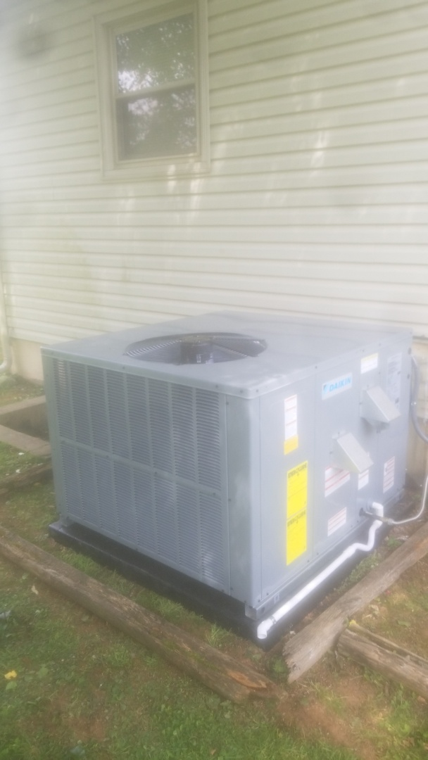 Knoxville, TN - New daikin heating and air conditioner installation