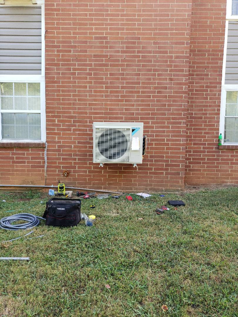 Knoxville, TN - Air Conditioning Replacement from AC Gas to 4-zone Daikin Mini Split