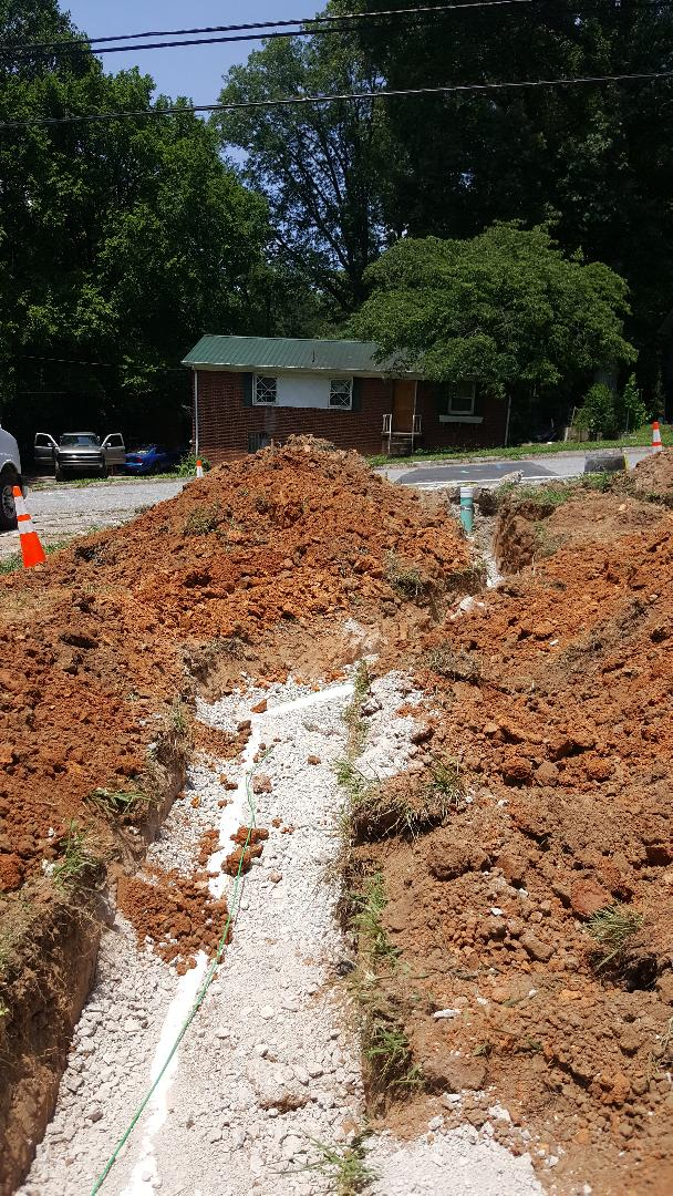 Knoxville, TN - Plumbing sewer line