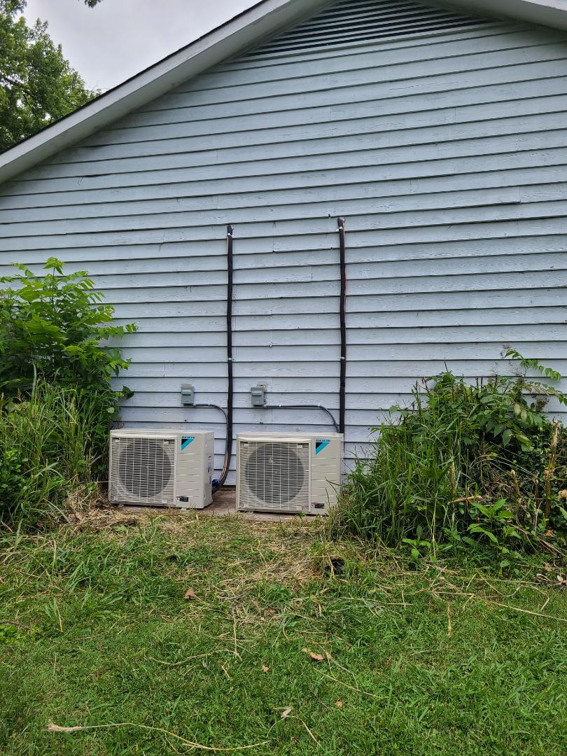 Knoxville, TN - Two Daikin fit install