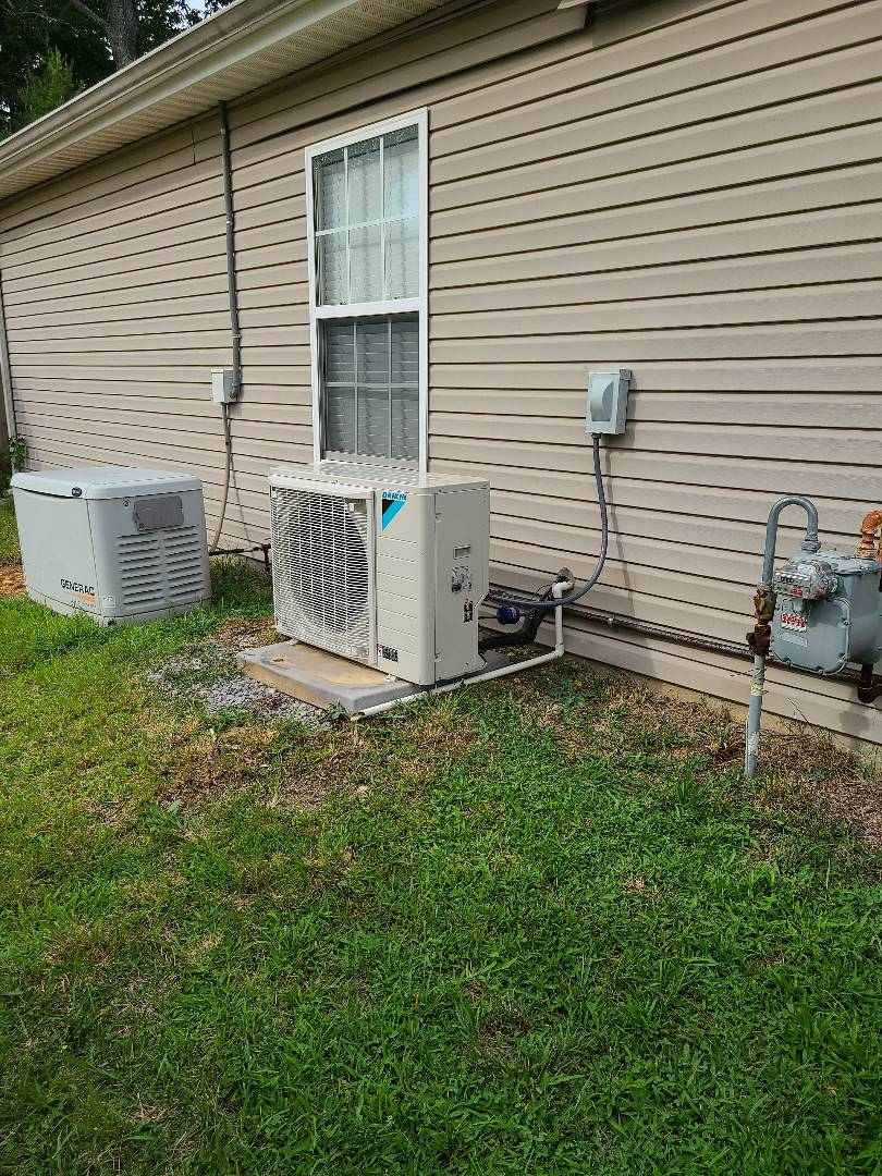 Knoxville, TN - New daikin fit hvac install