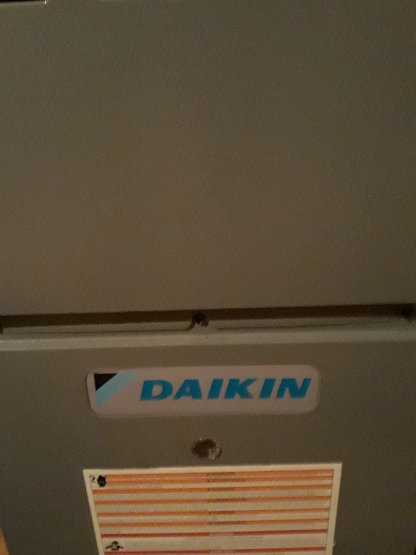 Knoxville, TN - 1 system Fall maintenance on a Daikin gas furnace and heat pump.