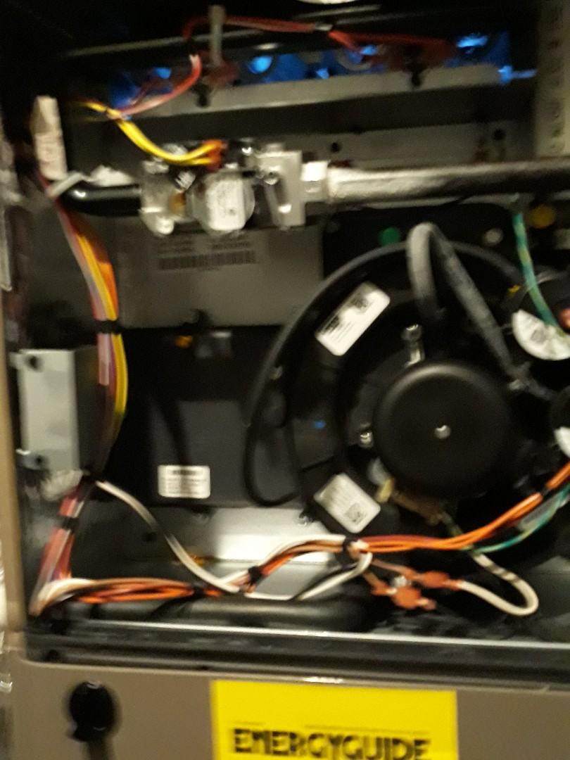 Clinton, TN - 1 system Fall maintenance on a Coleman gas furnace.
