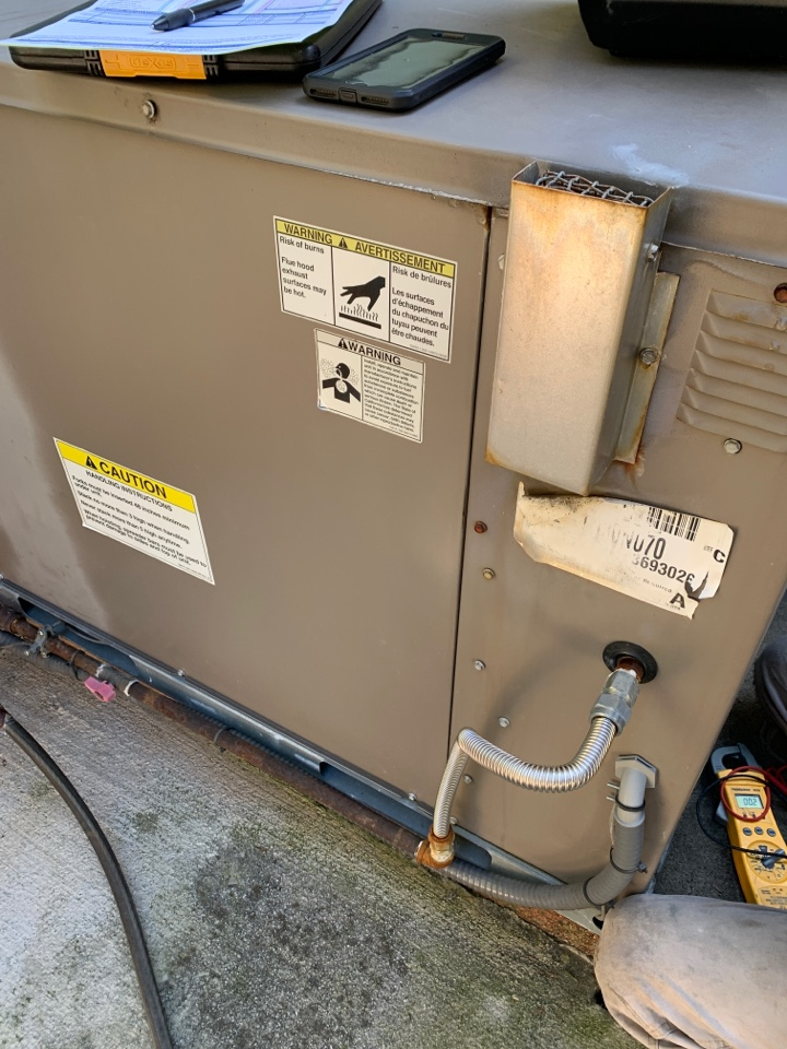 Knoxville, TN - 1 system fall Maintenance on a Coleman gas package unit.
