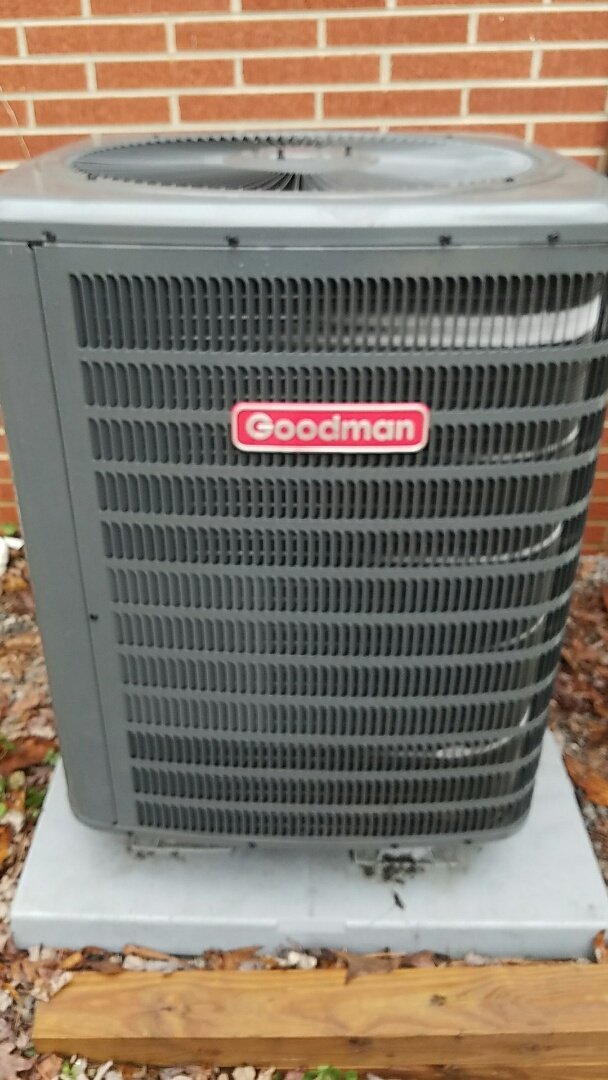 Loudon, TN - Heat Pump service call. No heat Goodman Heat Pump