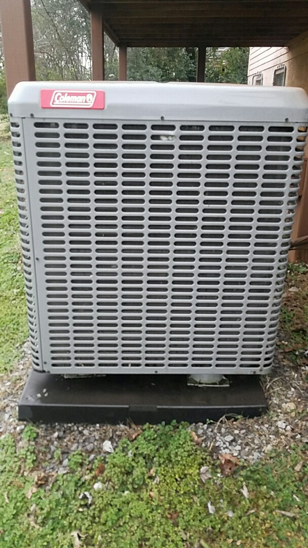 Corryton, TN - Performed heating tune up on coleman split heat pump