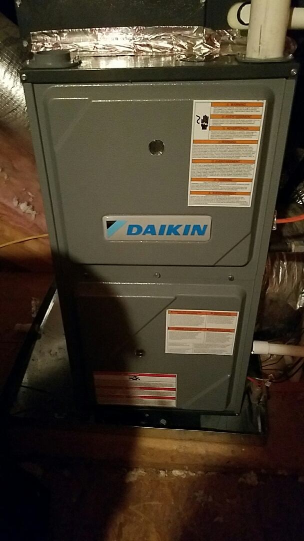 Maryville, TN - No heat call on a Daikin Gas Furnace