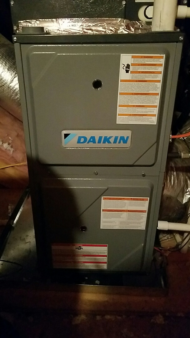 Maryville, TN - No heat on a Daikin split gas unit.