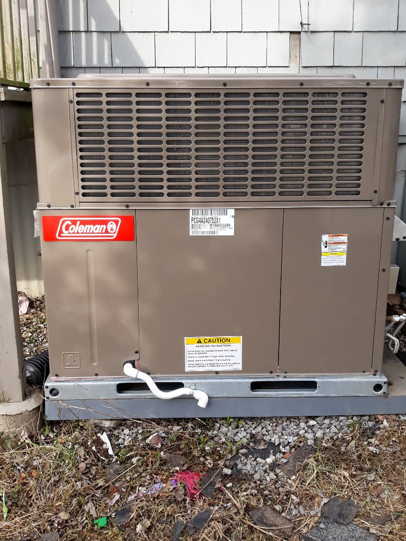 Oak Ridge, TN - Service call, no heat, Coleman pkg gas