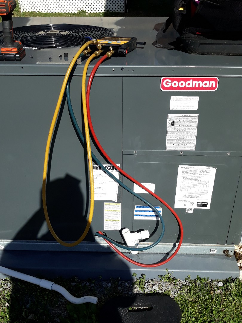 Oak Ridge, TN - Heat maintenance, Goodman pkg HP.