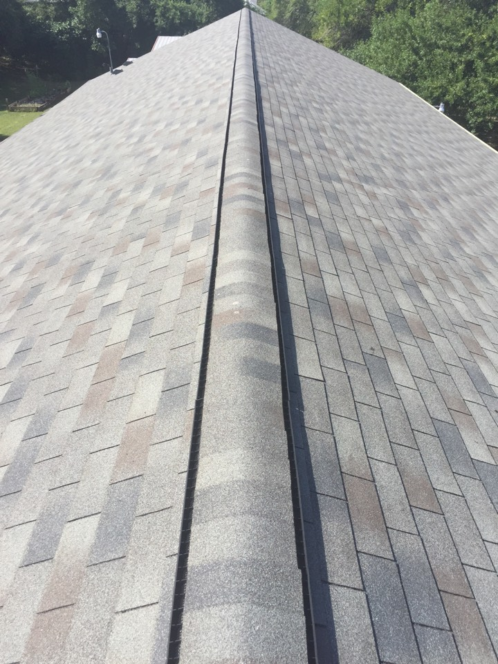 San Antonio, TX - We did the Korean United Nethodist Church in San Antonio. They had a white shingle and we went back with GAF Royal Sovereign in Slate color. It turned out beautiful.
