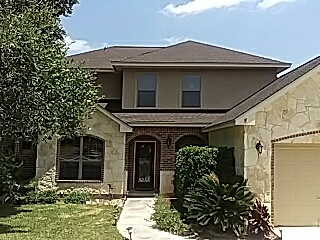San Antonio, TX - A beautiful GAF Timberline HD roof with a System Plus Warranty. Note the Z-Ridge on the hips and ridge. Our project is the only house on the street that stands out like this! Keep Roofing Round Rock