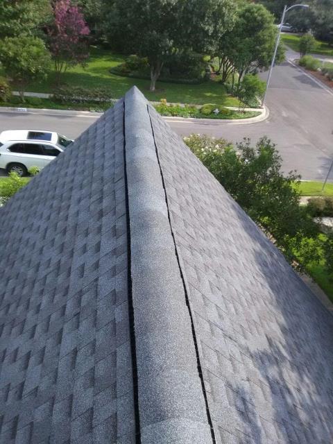 San Antonio, TX - Feller Roofing installed this GAF Timberline Dimensional Shingle in Pewter Gray in San Antonio.